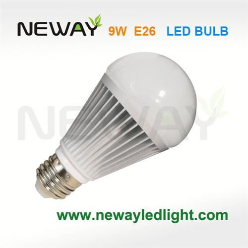 9w a60 led bulb replaces 60 watt incandescent bright white 9w e27 led bulb brightest 9w daylight. Black Bedroom Furniture Sets. Home Design Ideas