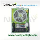 5050 LED RGB Colour Changing Flexible Strip Light Kit