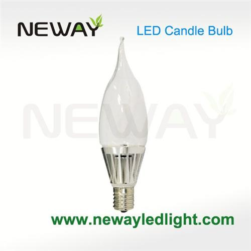 5w dimmable led candelabra bulb e17 smd led candle light. Black Bedroom Furniture Sets. Home Design Ideas