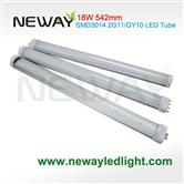 18W PLL 542MM 2G11 LED Tube Light