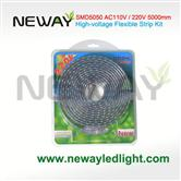 5Meters AC220V High Voltage LED Flexible Strip Kit
