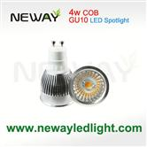 COB 4W LED Spot light for indoor lighting  GU10