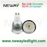 Dimmable COB 6W LED Spotlight