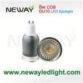 8W LED Spotlight bulbs COB GU10
