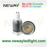 COB 8W GU10 LED Spot light Dimmable