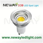 6W Dimmable LED Spotlight COB Gu10