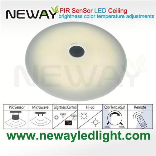 9w corridor pir infrared motion sensor led ceiling light round9w view enlarge image aloadofball Image collections