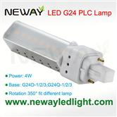 4W G24 LED PLC Lamp Bulb replace 10W CFL