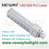 10W G24 Lamp Holder LED PLC Light Bulb replace 26W CFL