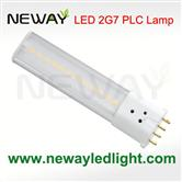 6Watts SMD 2G7 Lamp Base 4pin Plug in PL LED Tube