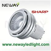 5W High Power GU10 LED Spot light Bulb Sharp COB