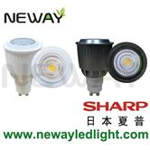 sharp cob led spot light fixture
