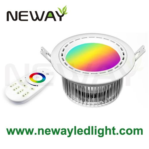 2 4g Wireless Touch Remote Control Rgbw Led Downlight 12w