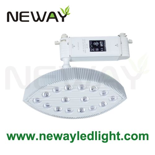 40w jewelry display lighting suspended led lights guide rail type