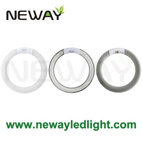 Clear Built In Led Driver Led Circular Replacement Tube