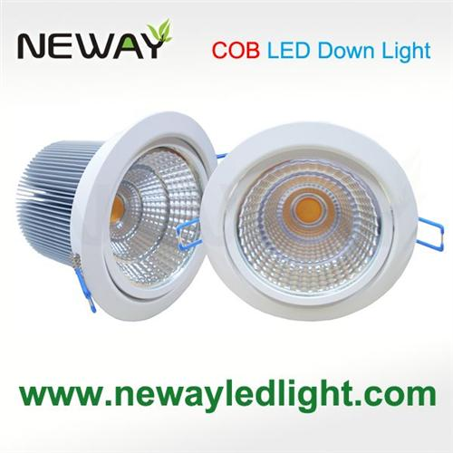 25W COB LED Recessed Kitchen Ceiling Lights,cob Recessed