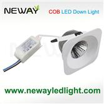 5W 7W 10W COB Square LED Ceiling Recessed Spot Light