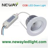 15W COB Recessed Brightest LED Ceiling Spotlights 4 Inch
