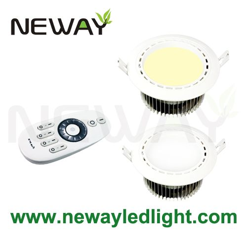 12w cordless led ceiling light with remote control led controller 02 view enlarge image mozeypictures Images