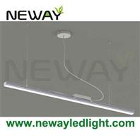 24w 60w modern architectural linear suspension led for Kit suspension luminaire