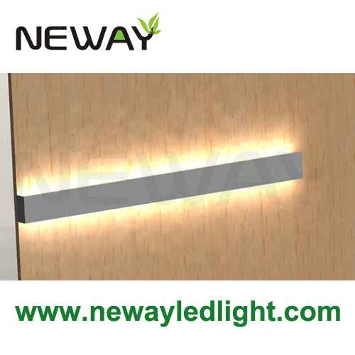 24W-60W Linear LED Wall Mounted Direct Indirect LED Lighting 4ft ...