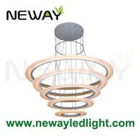 1200mm 1000mm 800mm 600mm 400mm Ring Large Suspended Led
