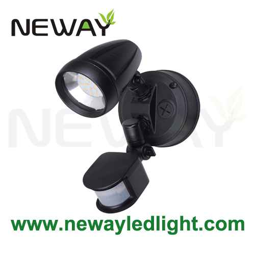 Motion sensor dual head nightlight outdoor safety security light view enlarge image aloadofball Image collections