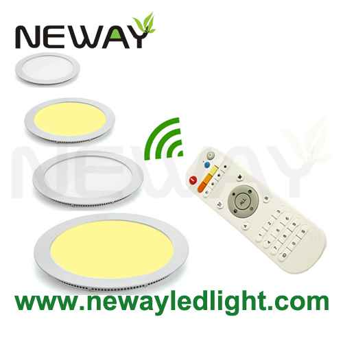 12w 180mm color changing remote round led ceiling light panel view enlarge image aloadofball Images