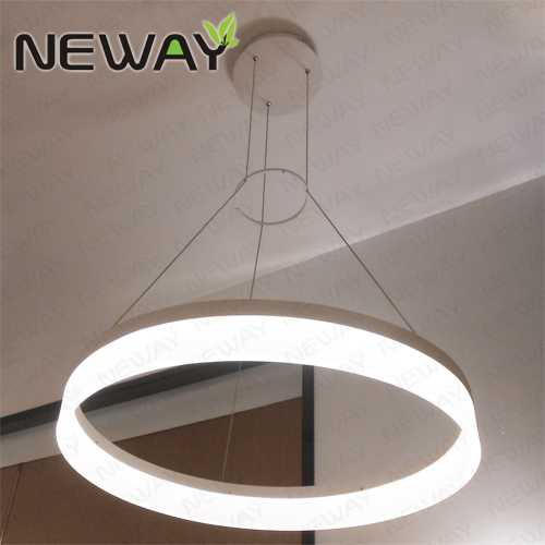 800mm 600mm 450mm Round Circle Decorative Lighting LED Pendant Light