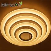 Modern LED Contemporary Ring Surface Mounted LED Ceiling Light