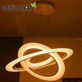 Suspended Round Circle Light LED Ring Pendant Lamp Ceiling Lighting