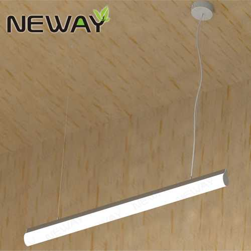 1000MM 1200MM 1500MM Linear Hanging LED Tube Pendant Light Fixtures ...