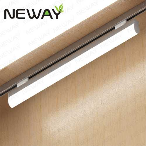 24W36W48W60W Linear LED Tube Track Lighting Contemporary Track ...