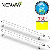 20W 4ft 1200MM IP65 Waterproof LED Surface Mounted Tube Lights