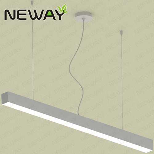 48W60W 1500MM Suspended Linear LED Ceiling Light Office Lighting