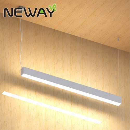 60w72w84w Suspended Led Linear Direct Indirect Pendant Lighting