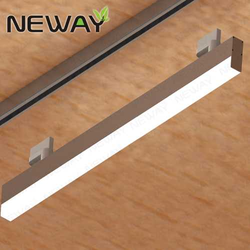Inset Light Rail: 24W36W48W60W Linear Architectural Tracking LED Track And