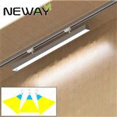 24W36W48W60W Adjust Angle Linear LED Track Light Trunking Rail Systems