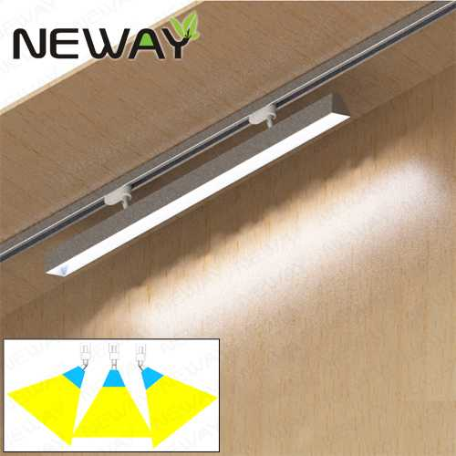 24w36w48w60w adjust angle linear led track light trunking rail 24w36w48w60w adjust angle linear led track light trunking rail systems aloadofball Gallery
