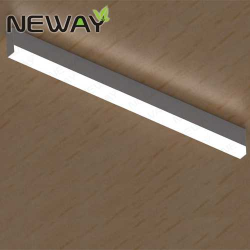 24w48w 1m 15m surface mounted linear led ceiling light fixtures view enlarge image mozeypictures Choice Image
