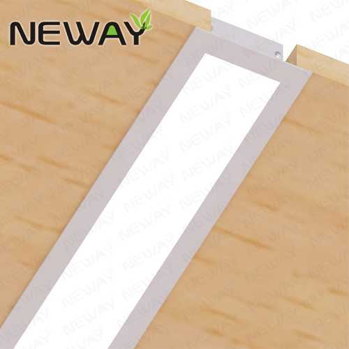 36W48W60W80W Recessed LED Linear Office Lighting Tube Light Fixtures ...