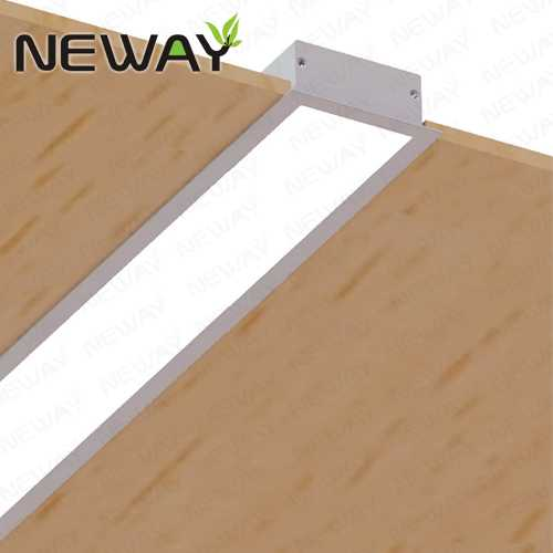 24w36w48w60w recessed ceiling linear led lighting fixturesrecessed view enlarge image mozeypictures Image collections
