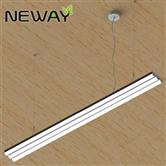 24W-180W 1-2-3Lines Pendant Aluminum Profile LED Linear Lamps