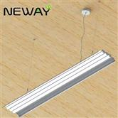 24W-180W 1-2-3Lines Wings Modern Linear LED Light Indoor Pendant Lamp