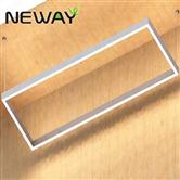 1200MM Indirect Direct Rectangle Suspended Linear Pendant Luminaires