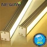rectangular aluminum profile extrusion ceiling mounted linear led4000k