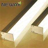pendant linear light suspended direct led linear luminaire