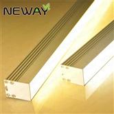 suspended profiles aluminum light linear lighting daylight white 4000k
