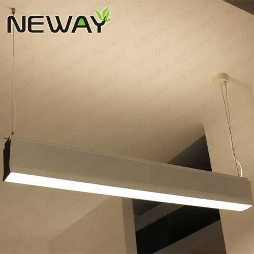 860mm 2000mm up down lighting suspended linear luminaire for Kit suspension luminaire