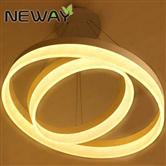 400MM 600MM 800MM 1000MM 1200MM 1500MM Circular LED pendant light